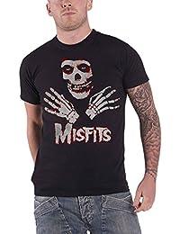 Misfits T Shirt Jarek Hands Band Logo Nue Offiziell Herren