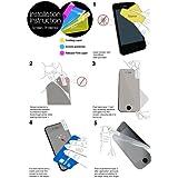 (Schwarz) Huawei Ascend Y530 Schutzfolie Faux Credit / Debit Card Leder Flip Skin Case Hülle Cover, einziehbare Touch Screen Stylus Pen & LCD Screen Protector Guard von Spyrox