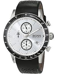 7b761f9f66a8 Hugo BOSS Reloj Cronógrafo para Hombre de Cuarzo con Correa en Cuero 1513403
