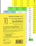 SteuerRichtlinien Griffregister Nr. 876 (2016/2017): 196 selbstklebende und farbig bedruckte Griffregister ***NEUAUFLAGE 2017 ist erschienen ISBN 9783864531033***