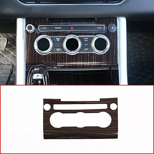 Rot Esche Wood Style für Rover Sport RR SPORT 2014–2018ABS Kunststoff Zentrale Klimaanlage Lautstärkeregler Panel (Rr-panel)