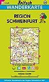 Fritsch Karten, Nr.87, Landkreis Schweinfurt (Fritsch Wanderkarten 1:50000) -