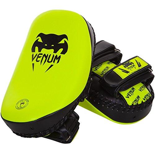 Venum Neon Light Curved Thai Pads (Pink)