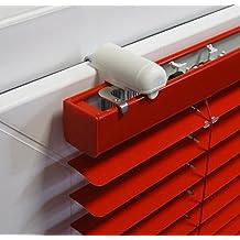 ps FASTFIX-Klemmträger für Jalousien (2 Stück) - Montage ohne Bohren direkt auf dem Fensterflügel Ihres PVC-/Kunststofffensters