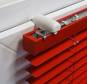ps fastfix klemmtr ger f r jalousien 2 st ck montage. Black Bedroom Furniture Sets. Home Design Ideas