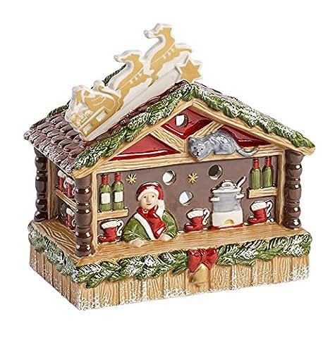 Nostalg. Christmas Market Gluehweinstand (Deutscher Weihnachtsmarkt-buden)