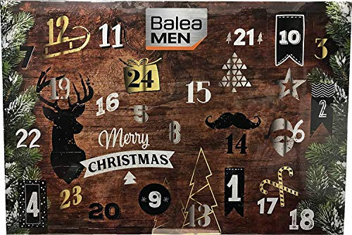 Kosmetik Adventskalender 2018 für Herren von Balea - Lovely Moments Advent Kalender mit 24 Beauty...