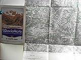 Wanderkarte St. Johann im Pongau - Karte Nr. 5050, mit Waldaufdruck und Wegmarkierungen, - Maßstab 1 : 75.000.