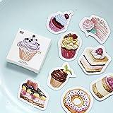 Bzuma–45pz/confezione My Favorite Sweet dessert etichetta adesivi decorativi adesivi cancelleria scrapbooking fai da te diario album stick etichetta []