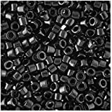 Miyuki 11 DB010 Delica tamaño diseño imitación tapicería negro unidades 5 gramos