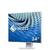 Eizo EV2456-WT 61,2 cm (24,1 Zoll) Ultra-Slim Monitor (DVI-D, HDMI, USB 3.0, DisplayPort, 5ms Reaktionszeit, Auflösung 1920 x 1200 ) weiß