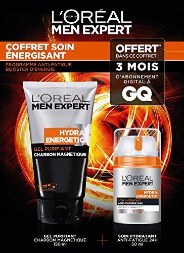 Men Expert Coffret Hydra Energetic 2 produits + 3 Mois d'abonnement offert à GQ