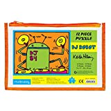 Keith Haring Dj Robot Pouch Puzzle: 12 Piece
