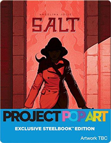 Salt Project Popart Steelbook / U.K. Release / Region Free Blu Ray.