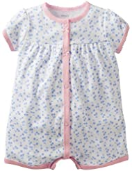 Carter's Cherries Romper 6 Months Color: White/Blue/Pink Size: 6 Months (Baby/Babe/Infant - Little ones)