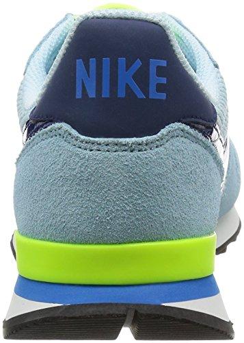 Nike - 828407-404, Chaussures De Sport Pour Femme Bleu / Lime