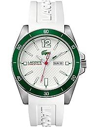Lacoste Herren-Armbanduhr SEATTLE Analog Quarz Silikon 2010802