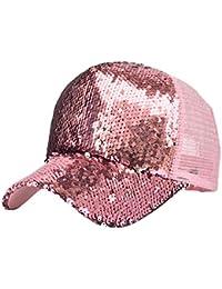 Sombrero Casual De Señora Lentejuelas AIMEE7 Sombrero Brillante para La Primavera Y El Verano