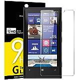 Panzerglas Nokia Lumia 920/925, NEWC® HD Display 9H Härte, Frei von Kratzern Fingabdrücken und Öl, 0.33mm Ultra-klar, panzerglas schutzfolie für Nokia Microsoft Lumia 920/925