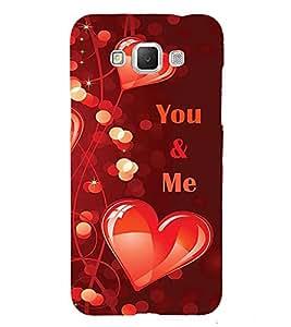 PrintVisa Designer Back Case Cover for Samsung Galaxy Grand I9082 :: Samsung Galaxy Grand Z I9082Z :: Samsung Galaxy Grand Duos I9080 I9082 (love lovely lover heartshape symbols you and me)