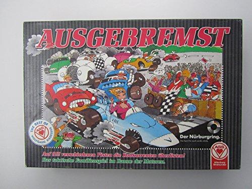 Ausgebremst - Spiel von Wolfgang Riedessser (Formel E-brettspiel)