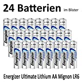 Energizer L91 Ultimate Lithium Mignon Batterie, 3000 mAh