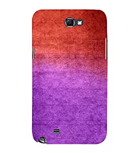 FUSON Abstract Watercolor Background 3D Hard Polycarbonate Designer Back Case Cover for Samsung Galaxy Note 2 :: Samsung Galaxy Note Ii N7100