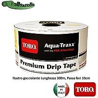 Aqua-Traxx PBX - Manguera de riego por goteo, cinta, , toro.300m / paso de 10cm, diámetro interior de 16mm.
