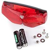 Ultrasport Automatisches LED Fahrrad-Rücklicht