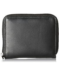 Bodenschatz Wallet, Portefeuilles mixte adulte, Schwarz (Black), 2x11x12 cm (W x H D)