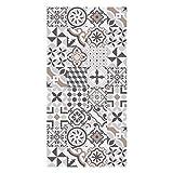 Huella Deco® Teppichläufer rutschfest, Motiv Cementine H1511 50X100 cm
