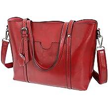 Vovoye Faux Leather Large Size Womens Adjustable Designer Shoulder Handbags