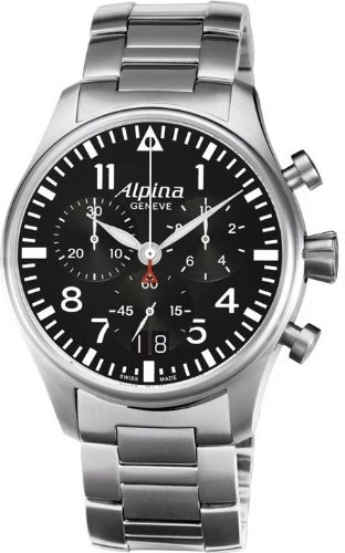 Alpina Geneve Startimer Pilot AL-372B4S6B Herrenchronograph Fliegeruhr