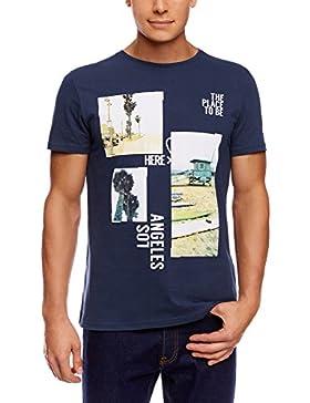 oodji Ultra Hombre Camiseta con