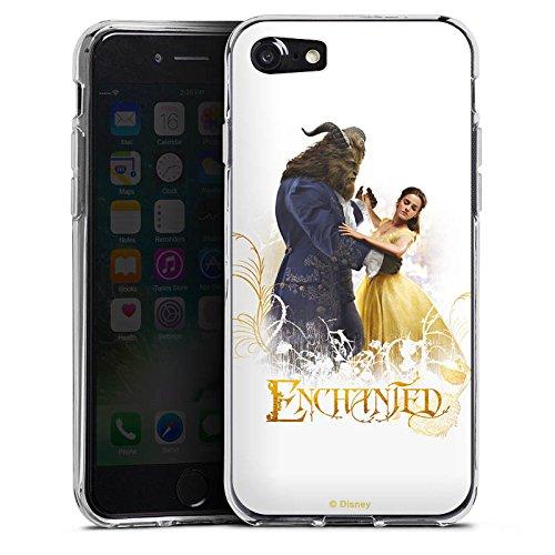 Apple iPhone X Silikon Hülle Case Schutzhülle Die Schöne und das Biest Belle und Biest Disney Silikon Case transparent