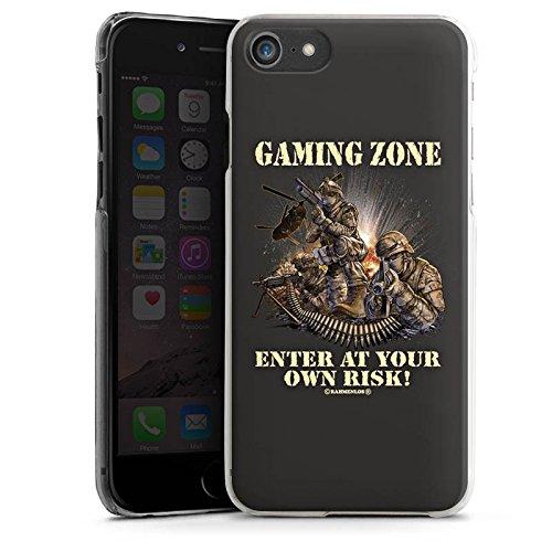 Apple iPhone X Silikon Hülle Case Schutzhülle Gaming Zone Game Sprüche Hard Case transparent