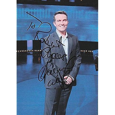 L' inseguimento–Bradley Walsh Autentico autografo AFTAL gioiello
