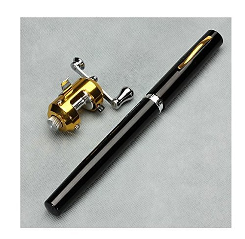 Romote 38inch Mini bewegliche Taschen Aluminiumlegierung Angelrute Stift Großes Geschenk