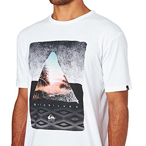 Quiksilver T-shirts - Quiksilver Classic Sintra Beach T-Shirt - White White