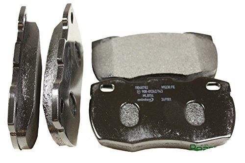 Mintex Front Brakes Brake Pad Set 110 110 Defender 110 Defender 90 RHD from (axle) 20L21633B BR 3653M SFP000260O