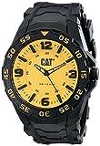 Caterpillar LB11121731 - Reloj para Hombres, Correa de Goma Color Negro