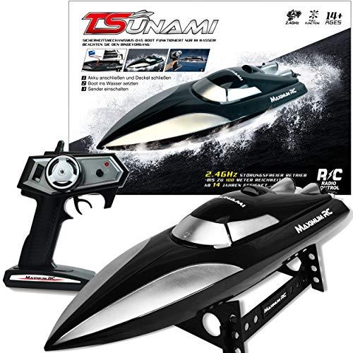 Maximum RC - Ferngesteuertes Boot Tsunami inklusive