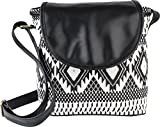 Kleio Women's Sling Bag (Black,BnB306LY-Bl)