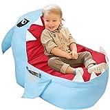 Chaise de sac de haricot de stockage d'animaux en peluche, canapé d'organisateur de jouet en peluche souple pour enfants adul