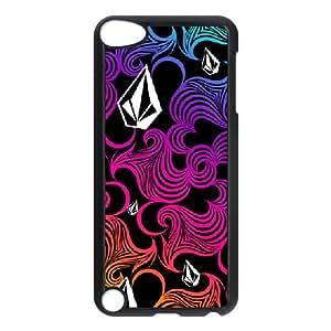 Volcom 004 iPod Touch 5 coque noire téléphone cellulaire coque couverture EVAXLKNBC03305