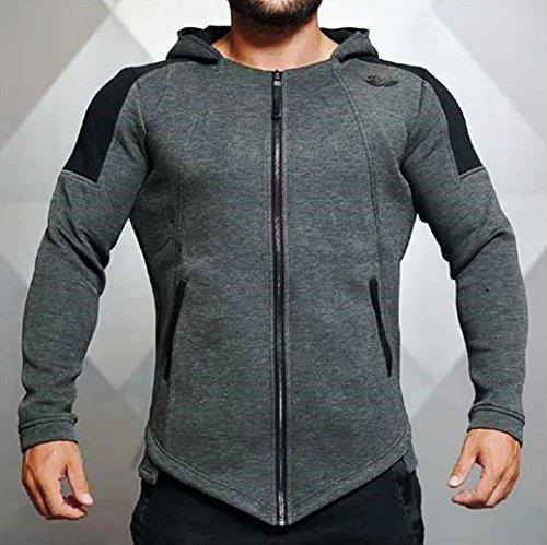 Body Engineers IGNIS Jacket - Dark Grey Melange Größe S