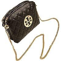 Aimerfeel-donne morbida piccola borsa in ecopelle nera con manico a catena in (Sera Del Partito Di Borsa)