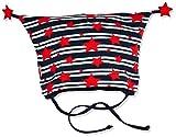 Sterntaler Baby-Mädchen Mütze Zipfelmütze Blau