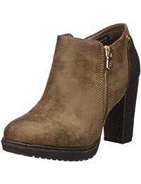 XTI 030479, Zapatos con Correa de Tobillo para Mujer, Negro (Black), 39 EU