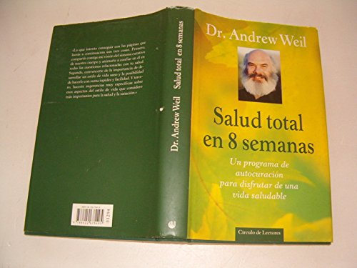 Portada del libro Salud total en 8 semanas